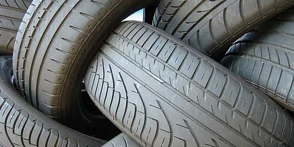 Un millón de toneladas de neumáticos, 2.000 km de asfalto