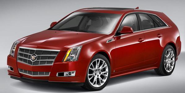 Futuros Cadillac CTS Sport Wagon y SRX