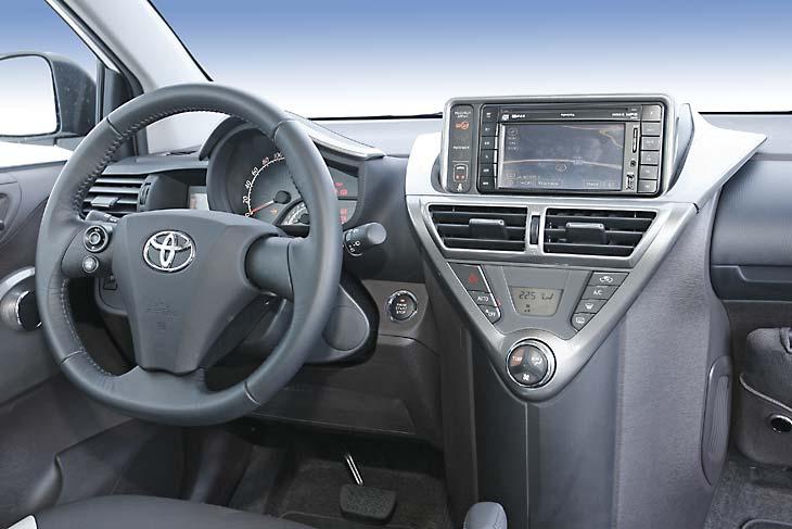 Toyota iQ vs Aygo y Yaris