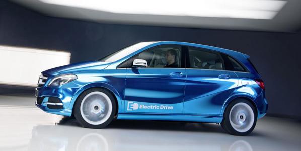 Mercedes Clase B eléctrico