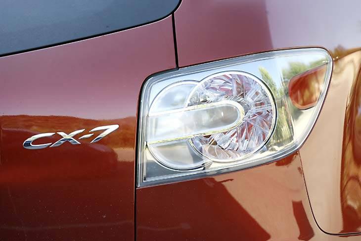 Mazda CX-7: consumos sensibles