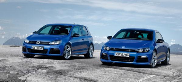 Volkswagen Golf R y Scirocco R