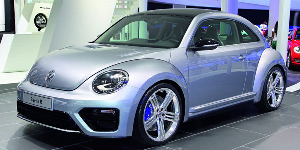 Volkswagen Beetle R, muy cerca
