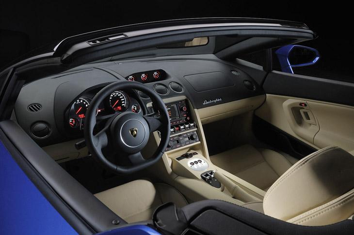 Lamborghini Gallardo LP 550-2 Spyder.