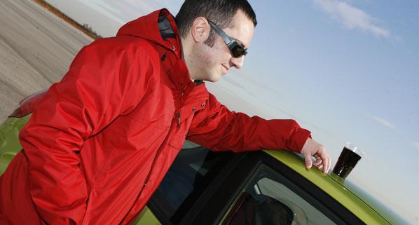 En Francia, los coches con alcoholímetro