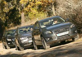 Audi Q5 2.0 TDi, BMW X3 2.0d y VW Tiguan 2.0 TDi Sport