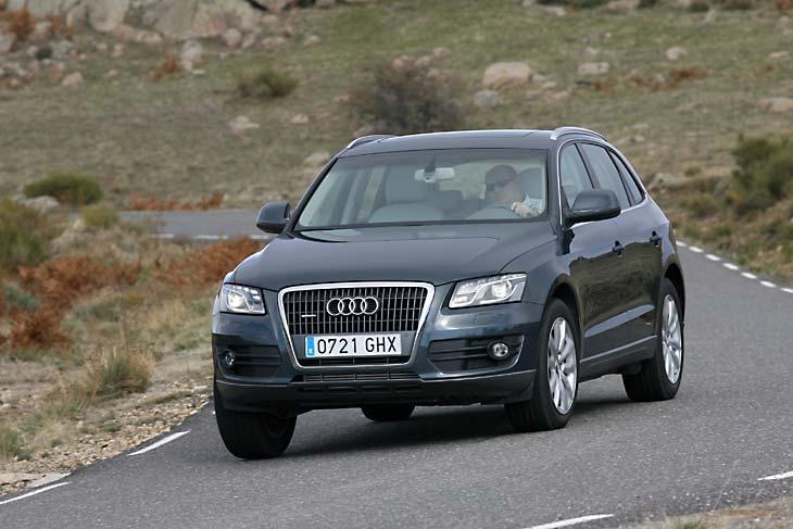 Audi Q5, BMW X3 y Volkswagen Tiguan: movimientos