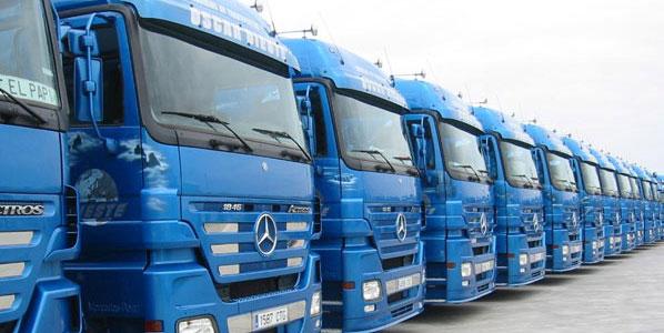 Tráfico: campaña de control de camiones y furgonetas