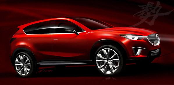 Mazda Minagi, nuevo rival para Qashqai y Kuga