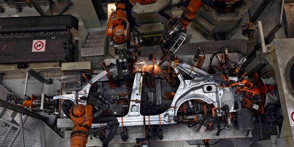 La producción de coches en China, a la baja