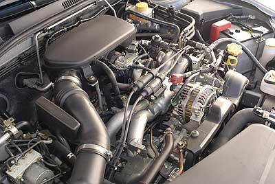 El motor bóxer es característico de Subaru.