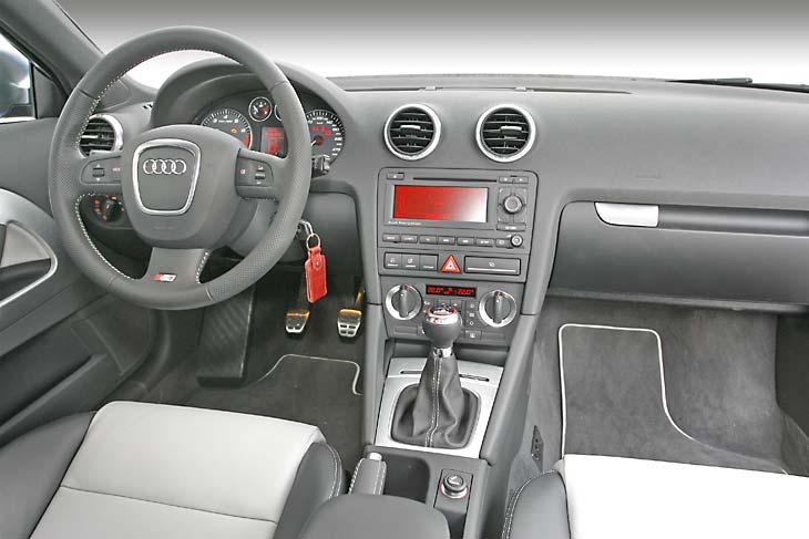 La calidad de los Audi grandes se deja ver también en el S3