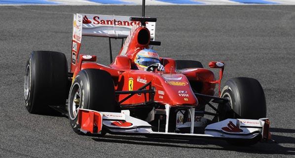 Alonso, segundo tras Webber