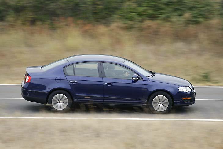 Citroën C5 2.0 HDi, Ford Mondeo 2.0 TDCi, Opel Insignia 2.0 CDTi y VW Passat 2.0 TDi