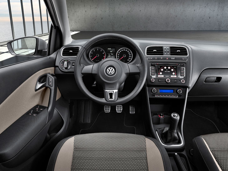 VW Cross Polo, al detalle