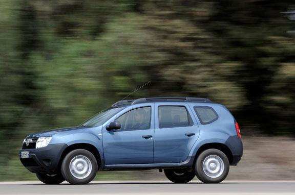 Dacia Duster, el contacto