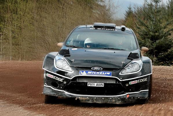 Dani Sordo probó el Ford Fiesta WRC