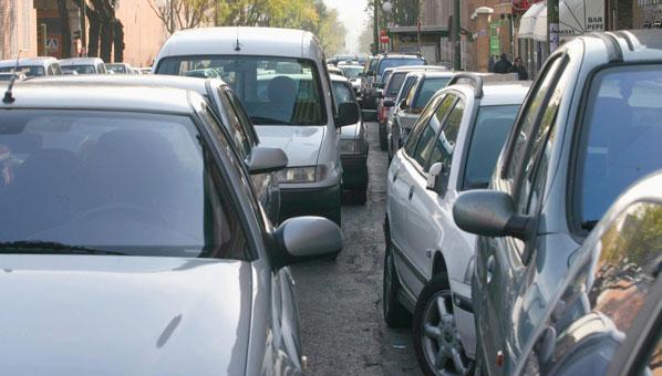 Los madrileños, los que peor aparcan