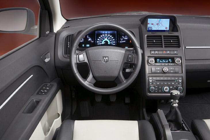 Al volante del Dodge Journey