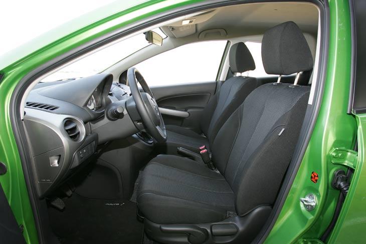 El interior del nuevo Mazda2 es muy vanguardista