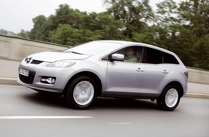 Mazda CX7 extend