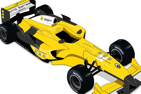 Nuevo peldaño a la Fórmula 1