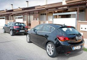 Alfa Romeo Giulietta 1.4 TB vs Opel Astra 1.6 Turbo