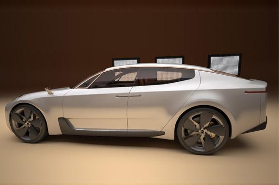 Kia concept car Frankfurt 2011