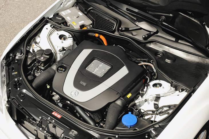 Mercedes S400 con tecnología BlueHYBRID