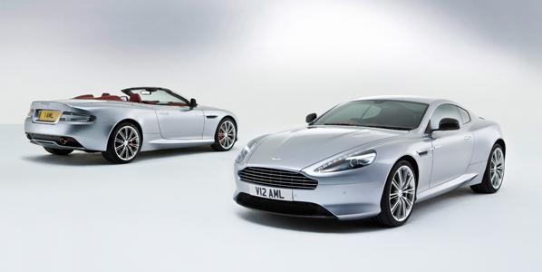 Aston Martin DB9 2013, ahora más potente