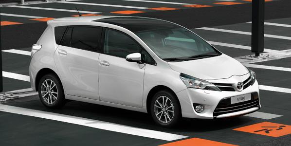 Nuevo Toyota Verso 2013