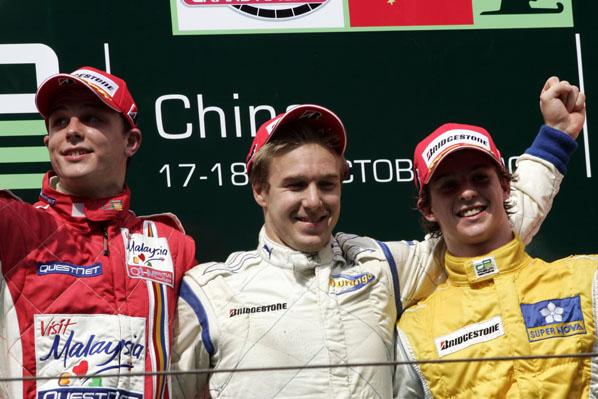 Roldán es el líder de la GP2