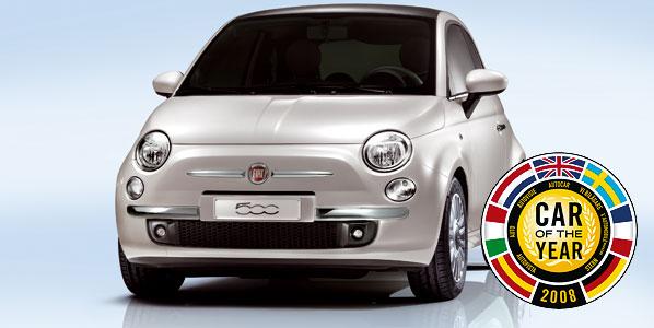 Fiat 500: Coche del Año 2008