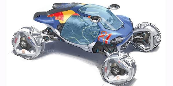 Los coches de carreras del futuro