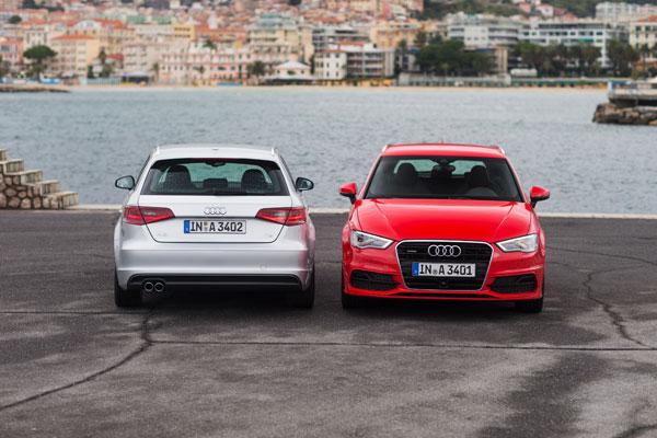 Audi A3 Sportback el contacto