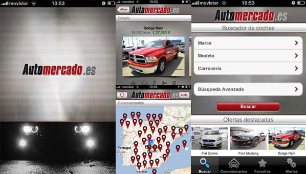 La App de Automercado.es, ya disponible