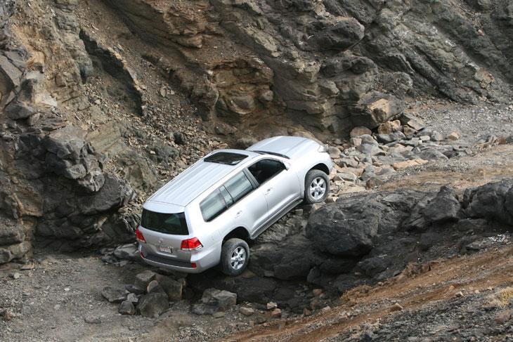 Toyota Land Cruiser 200: contacto