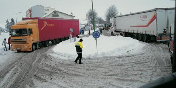 Tráfico activa la operación de Navidad