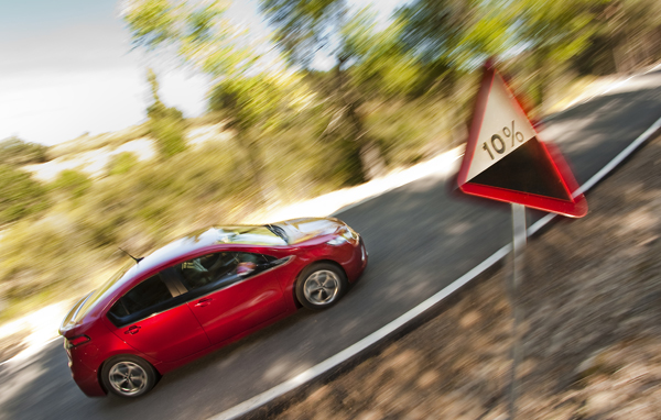 Opel Ampera la prueba
