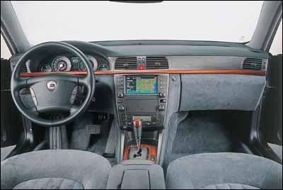 Lancia Thesis V6 Emblema
