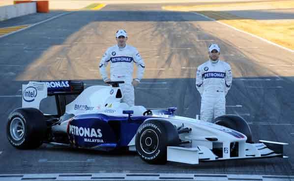 Kubica estrena el BMW F109