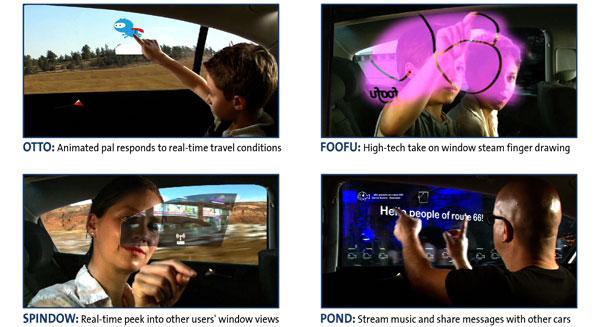 GM: ¿entretenimiento en las ventanillas?