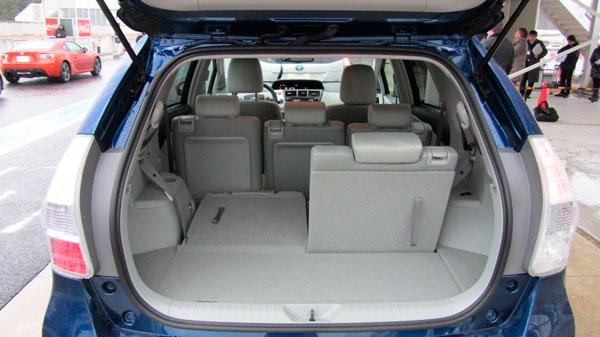 Toyota Prius+ el contacto