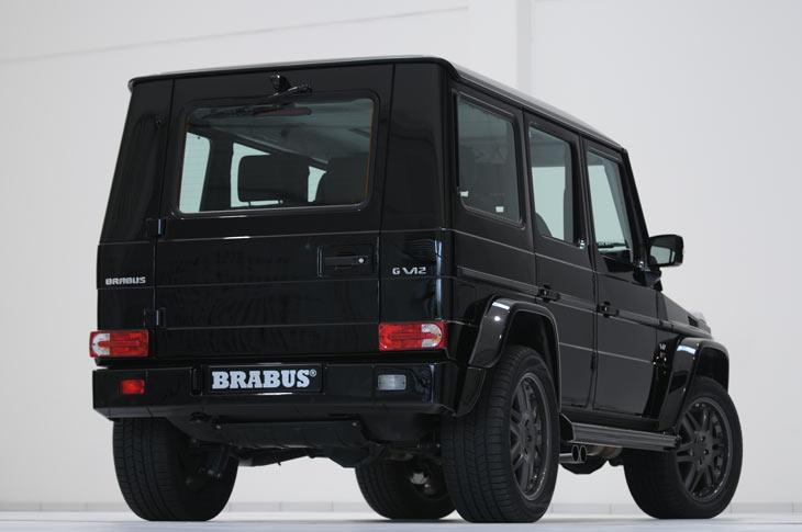 Mercedes G Brabus V12 S Biturbo