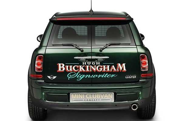 Mini Clubvan Concept, la furgoneta pequeña premium
