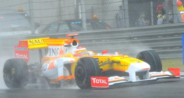 F1: La carrera de Alonso en China