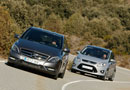Ford C-Max 1.6 Ecoboost vs Mercedes B200 BlueEfficiency | Todas las ...