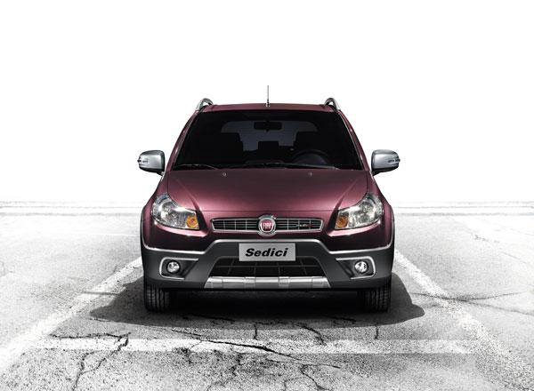 Fiat Sedici 2012, nuevas fotos