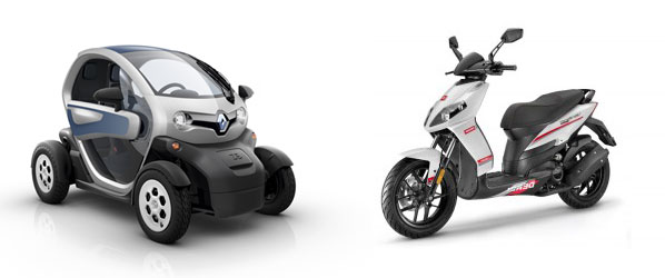 ¿Renault Twizy o scooter?