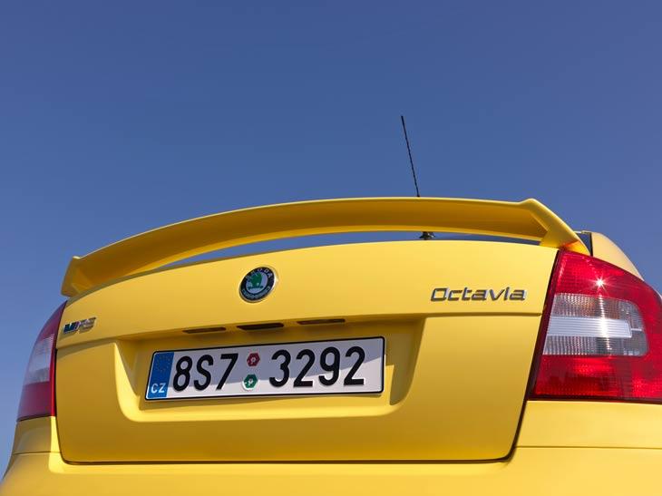 Skoda Octavia RS: detalles